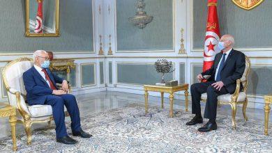 Photo of لقاء سعيد و الغنوشي